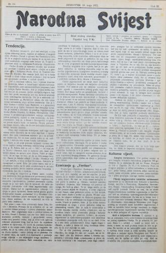 Narodna svijest, 1921/19