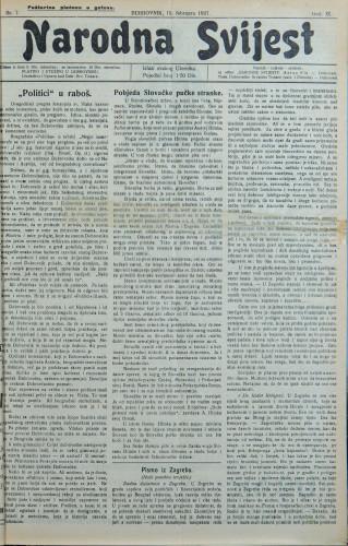 Narodna svijest, 1927/7