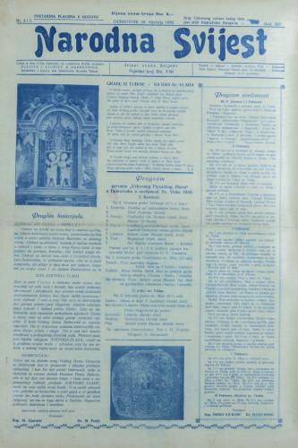 Narodna svijest, 1932/4, 5