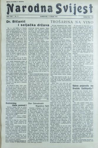 Narodna svijest, 1940/11