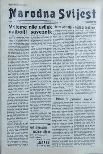 Narodna svijest, 1939/13