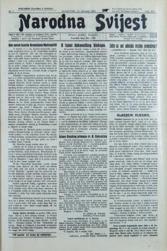 Narodna svijest, 1933/7
