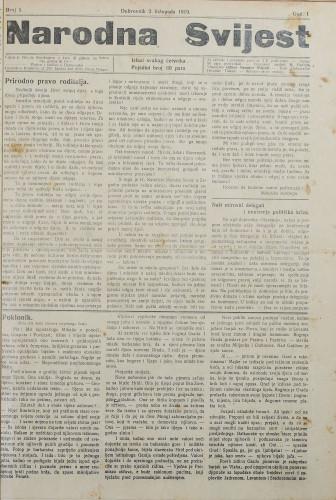Narodna svijest, 1919/5