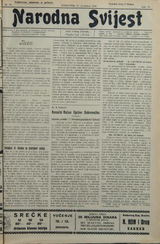 Narodna svijest, 1924/53