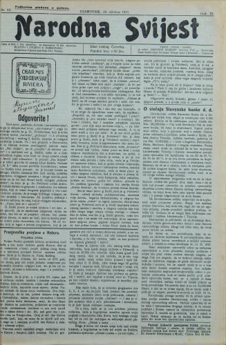 Narodna svijest, 1927/42