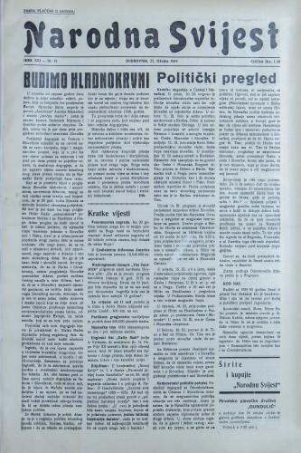 Narodna svijest, 1939/12