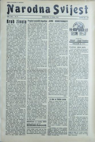 Narodna svijest, 1940/21