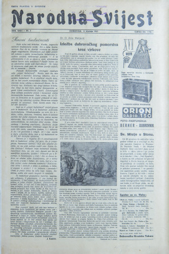 Narodna svijest, 1941/2