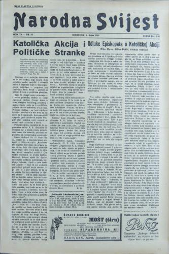 Narodna svijest, 1938/36