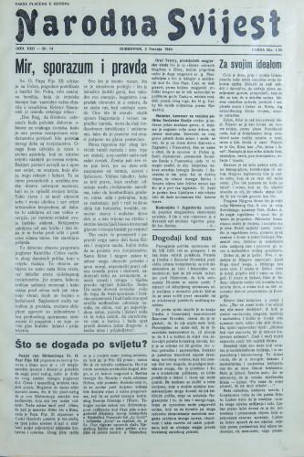 Narodna svijest, 1940/14