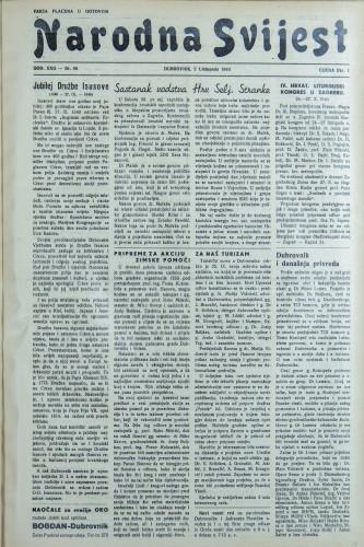 Narodna svijest, 1940/40