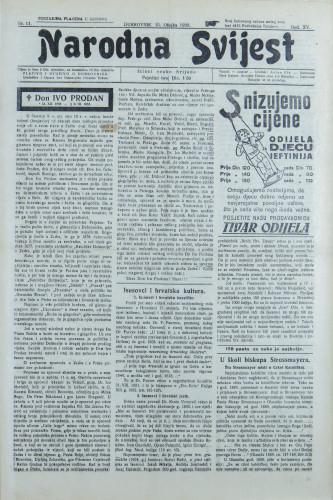 Narodna svijest, 1933/11