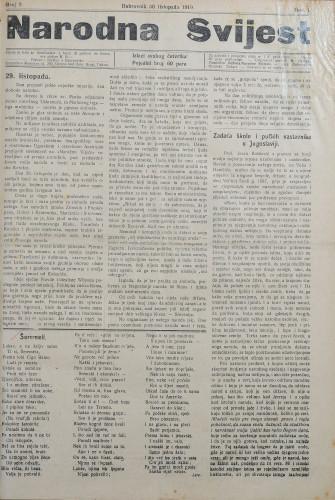 Narodna svijest, 1919/9