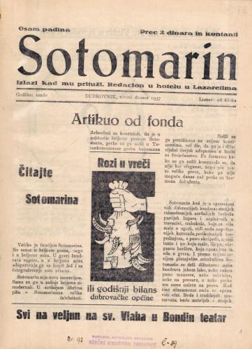 Sotomarin/Lumer: od šiloka