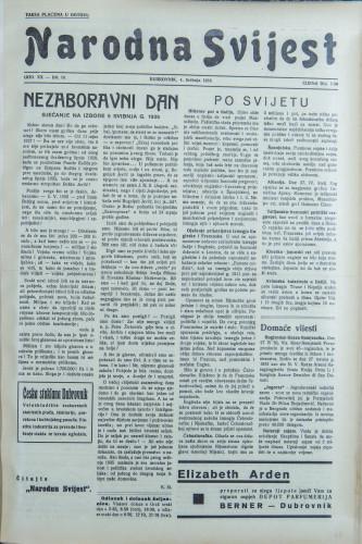 Narodna svijest, 1938/18