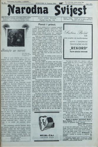 Narodna svijest, 1934/51