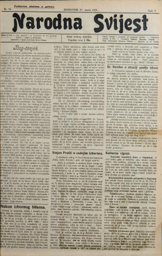 Narodna svijest, 1923/15