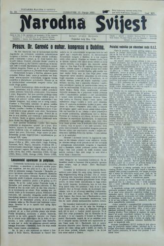 Narodna svijest, 1932/28