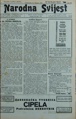 Narodna svijest, 1930/8