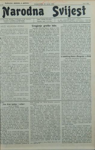 Narodna svijest, 1926/13