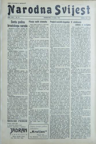 Narodna svijest, 1940/24