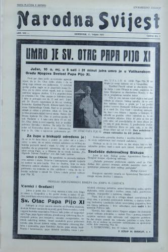 Narodna svijest, 1939/iz-1