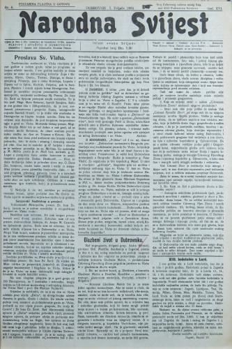 Narodna svijest, 1934/6