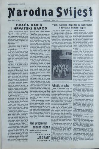 Narodna svijest, 1939/23