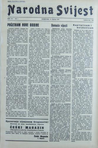 Narodna svijest, 1938/3