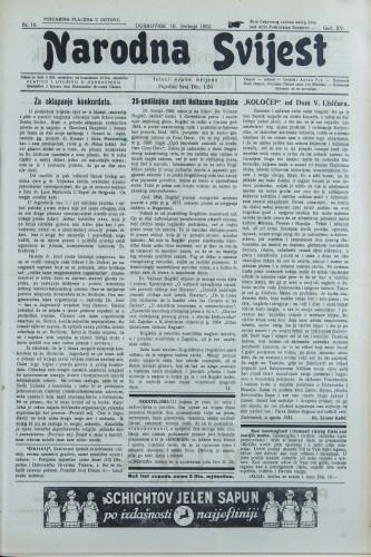 Narodna svijest, 1933/19
