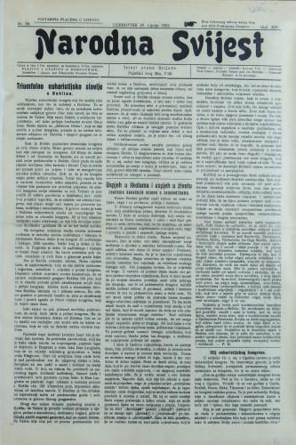 Narodna svijest, 1932/26