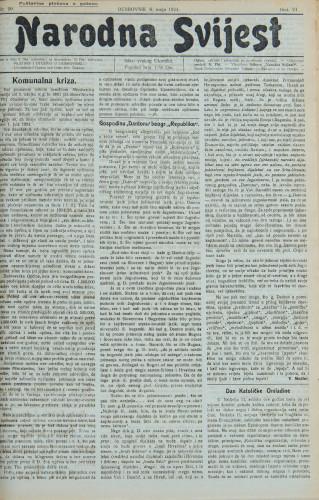 Narodna svijest, 1924/20