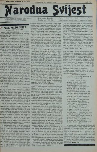 Narodna svijest, 1924/9