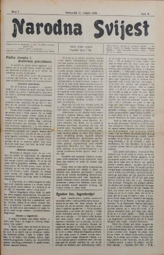 Narodna svijest, 1920/7