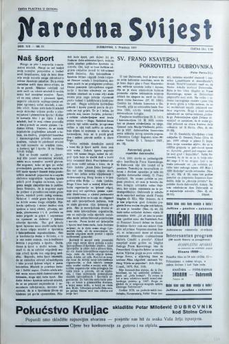 Narodna svijest, 1937/51