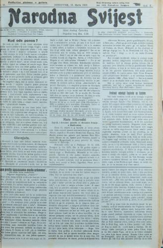 Narodna svijest, 1928/11