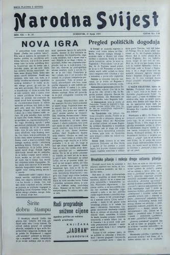 Narodna svijest, 1939/25