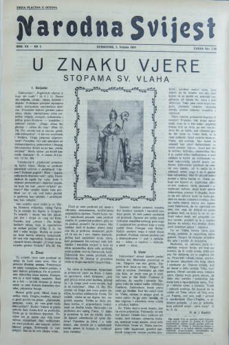 Narodna svijest, 1938/5