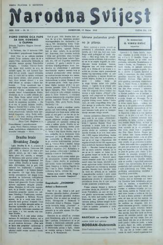 Narodna svijest, 1940/37