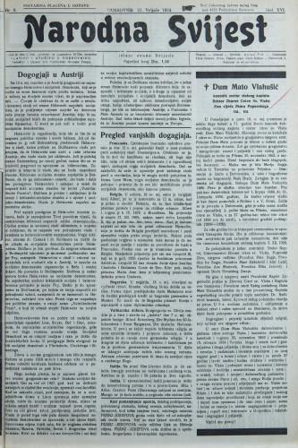 Narodna svijest, 1934/8