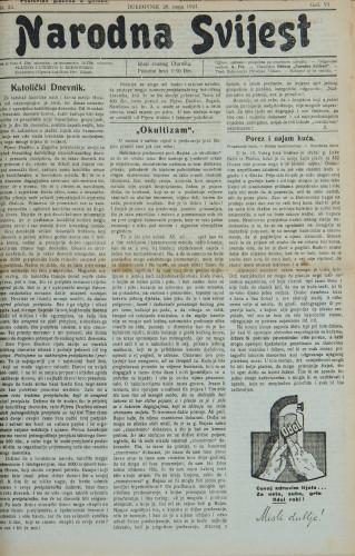 Narodna svijest, 1924/22