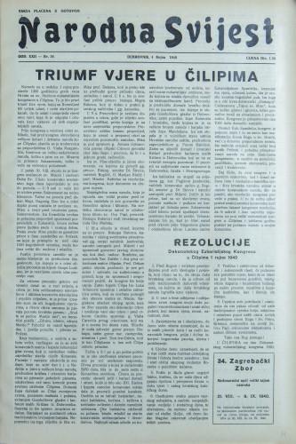 Narodna svijest, 1940/36