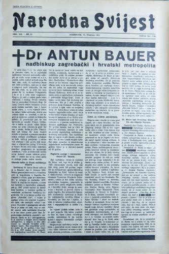 Narodna svijest, 1937/53