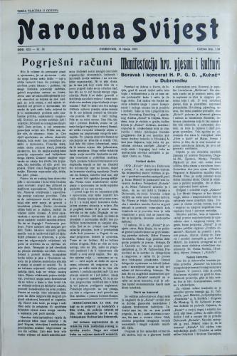 Narodna svijest, 1939/24