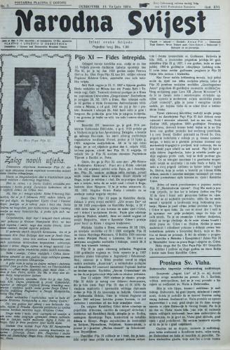 Narodna svijest, 1934/7
