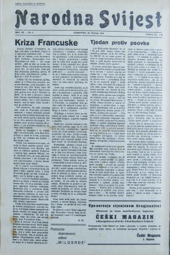 Narodna svijest, 1938/4