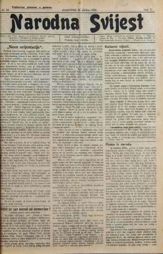 Narodna svijest, 1923/44