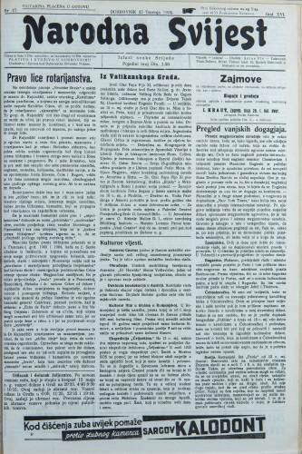 Narodna svijest, 1934/17