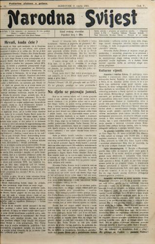 Narodna svijest, 1923/12