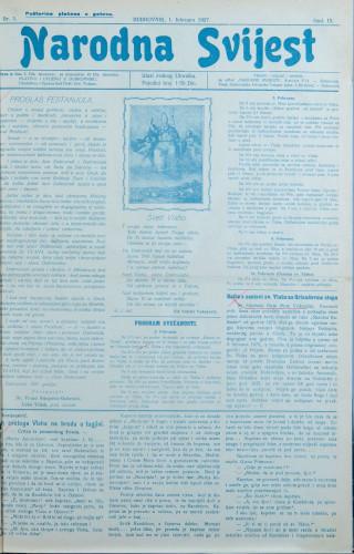 Narodna svijest, 1927/5